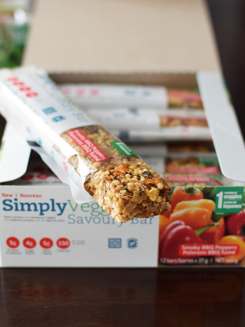 SimplyVeggie Savory Bars - Smoky BBQ Peppers (these are the best savory bars I've tried to date - vegan, gluten-free, dairy-free, soy-free and flavor-filled!)