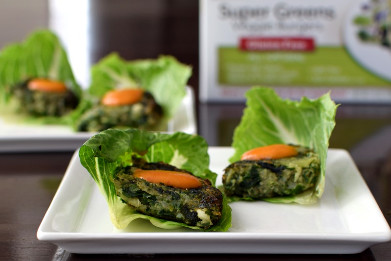 Top Dairy-Free Expo West 2015 Food Finds - Dr Praegers Super Greens Veggie Burgers