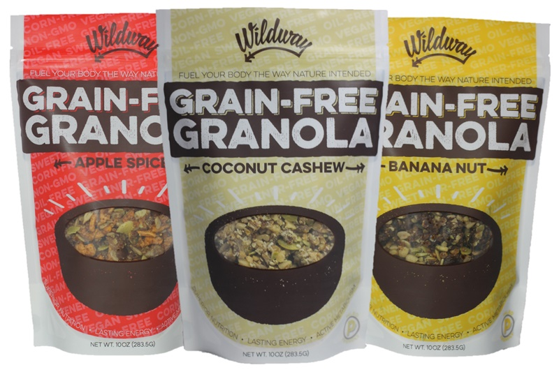 Top Dairy-Free Expo West 2015 Food Finds -  Wildway Grain-Free Granola
