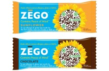 Zego Bars - Energy, Snack, Gluten-Free and Allergy-Friendly (Sunflower and Chocolate)