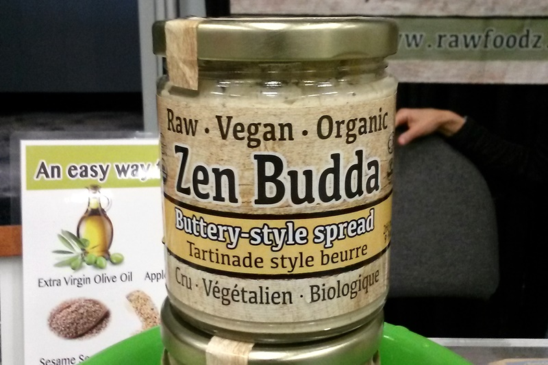 Top Dairy-Free Expo West 2015 Food Finds - RawFoodz Zen Budda Buttery Style Spread