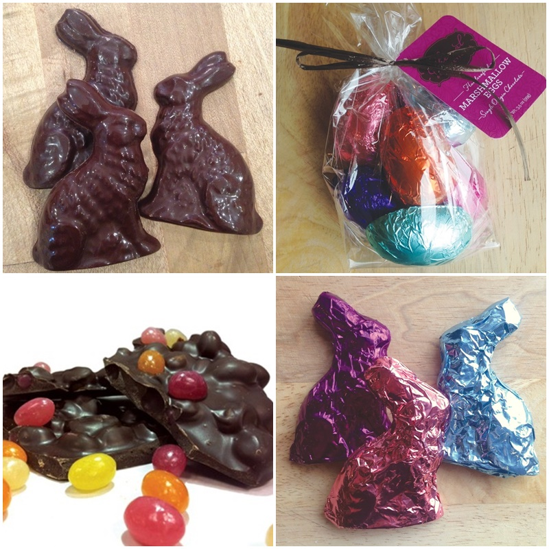 Vegan, Gluten-Free and Dairy-Free Chocolate Easter Bunny Round-Up: Ethereal Confections pictured