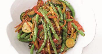 Easy, Healthy All Veggie Stir Fry Recipe