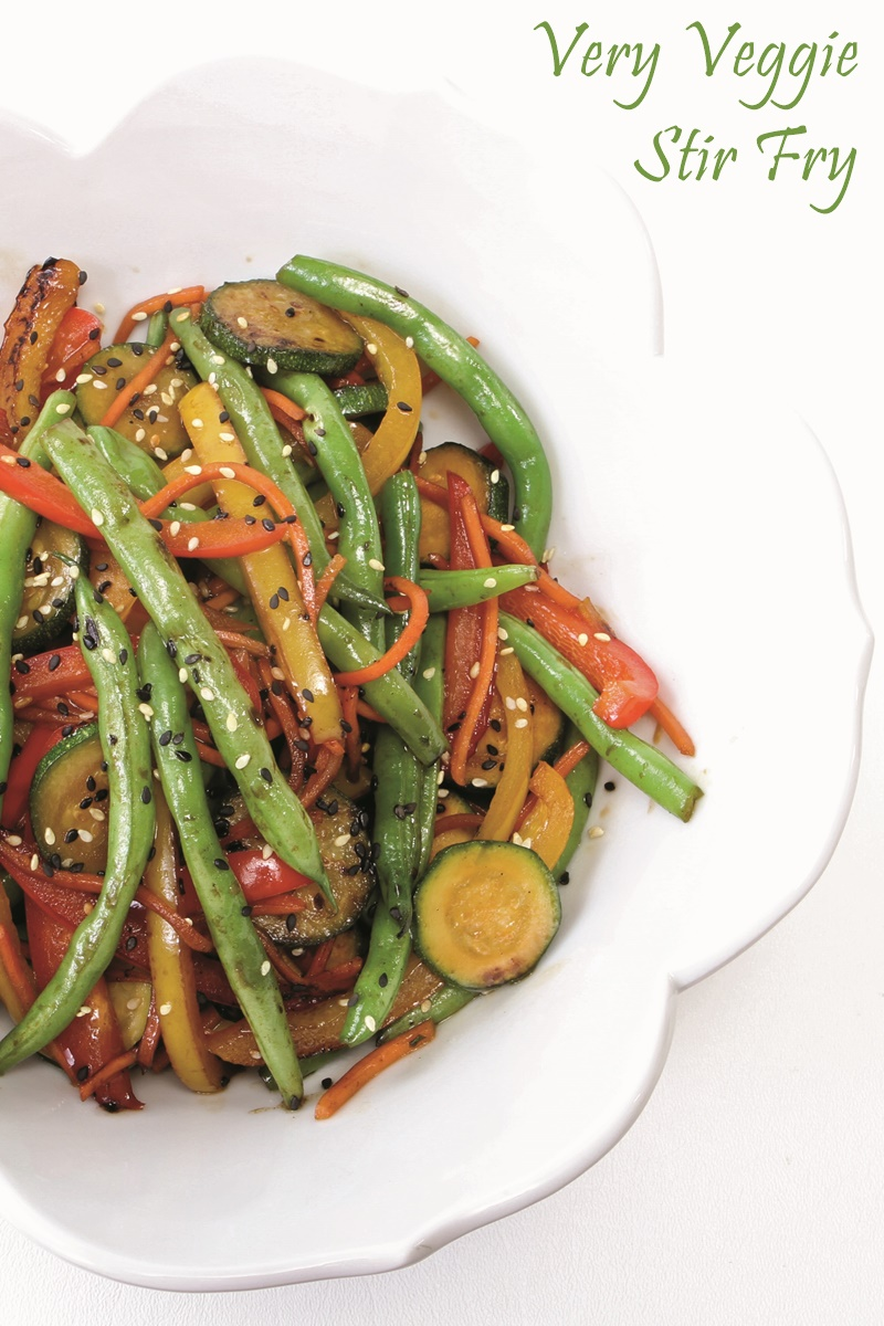 Easy, Healthy All Veggie Stir Fry Recipe