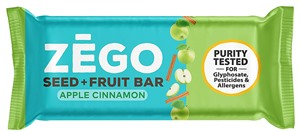 Zego Seed + Fruit Protein Bars are Gluten, Allergy, and Purity Tested - Reviews and Info - vegan, paleo, dairy-free, gluten-free, top allergen-free.