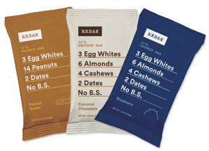 RxBar Protein Bars - Dairy-Free, Gluten-Free Flavors (all Paleo, too, except Peanut Butter)