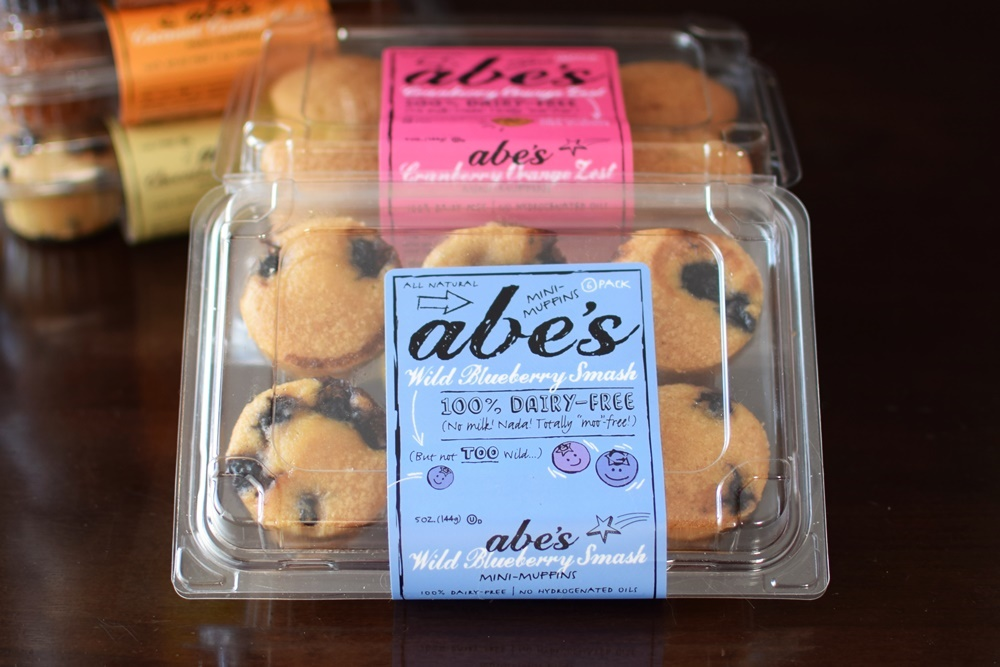 Abe's Mini Muffins: All-Natural, Dairy-Free, Vegan and Available in SO Many Flavors!