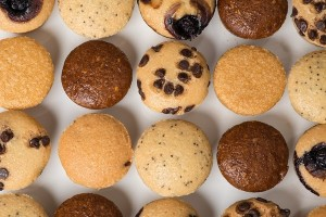 Abes Mini Muffins - Numerous All-Natural and Dairy-Free Flavors (all vegan and nut-free)