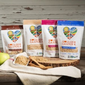 Boulder Granola - 4 Organic Flavors - All Low Sugar, Dairy-Free, Vegan, and Gluten-Free
