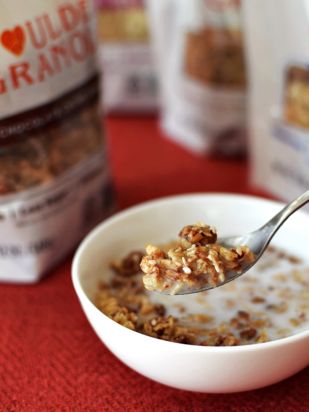 Boulder Granola - 4 Organic Flavors - All Low Sugar, Dairy-Free, Vegan, and Gluten-Free