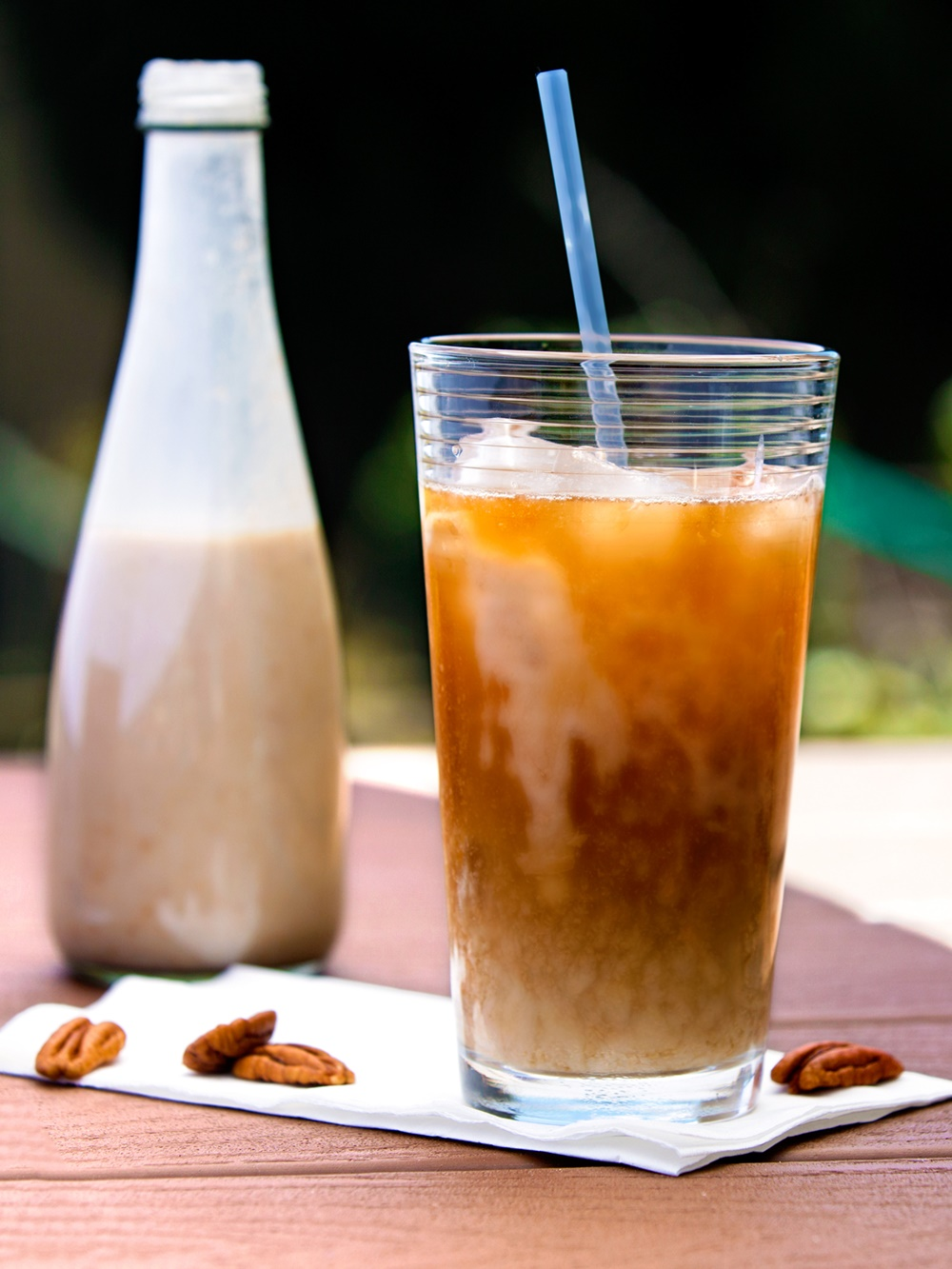 Butter Pecan Dairy-Free Iced Coffee Recipe - an amazing, fast (just 5 minutes!), easy, rich, energizing delight that's naturally vegan, gluten-free & soy-free!