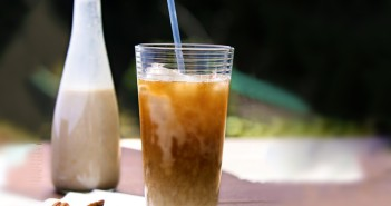 Butter Pecan Dairy-Free Iced Coffee - an amazing, fast, easy, rich, energizing delight that's naturally vegan, gluten-free & soy-free!