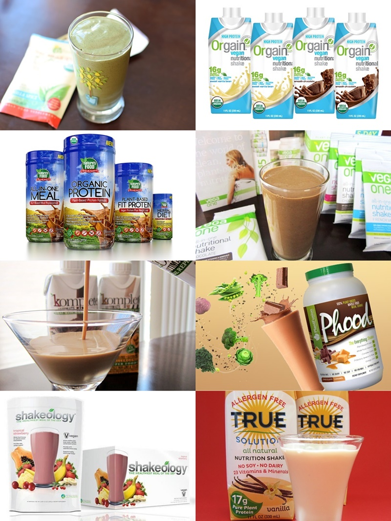 Over 15 Dairy-Free Meal Replacement Shakes and Nutritional Beverages - All Vegan!