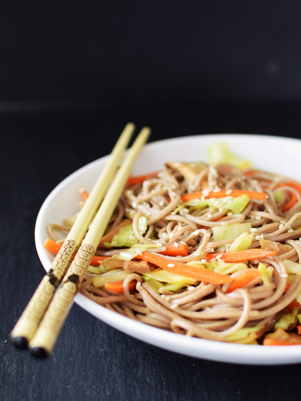 22 Healthy Winter Recipes (all dairy-free!) - Healthy Ramen Redux pictured
