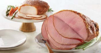 Honey Baked Ham Dairy-Free Guide with Custom Order Options - for their cafes, stores, and online