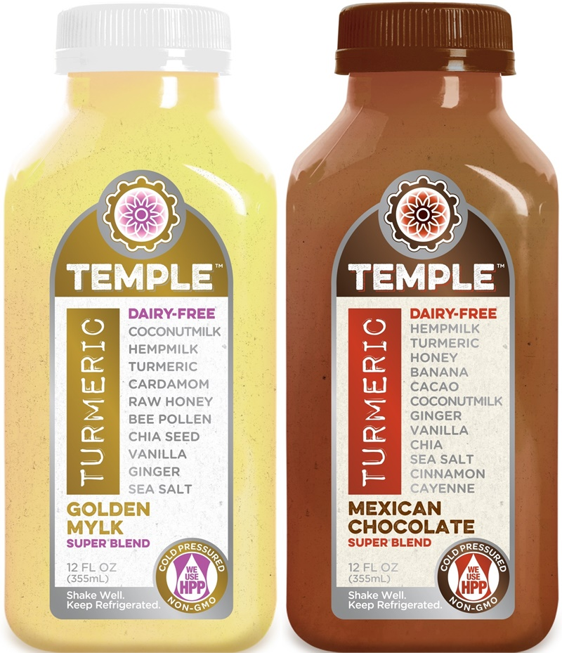 Temple Turmeric Super Blend - Golden Mylk + Mexican Chocolate