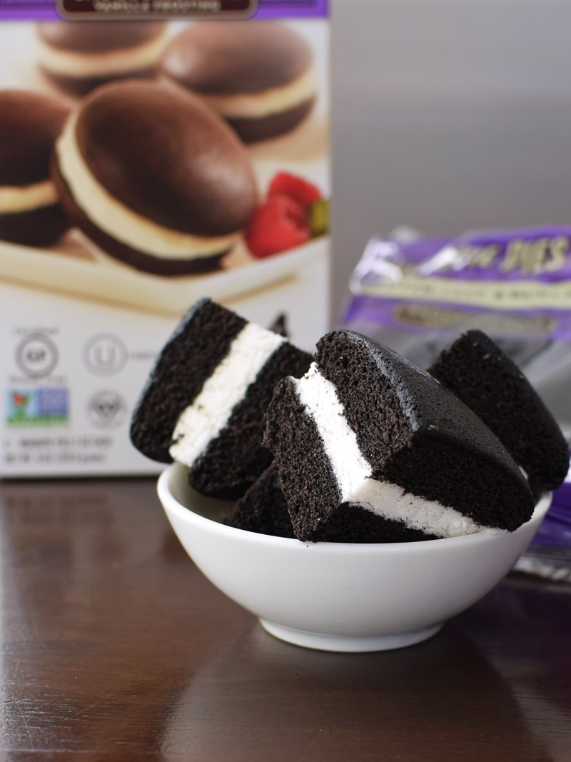 The Piping Gourmets Whoopie Pies - Gluten-Free, Dairy-Free, Vegan (6 flavors! Chocolate w/ Vanilla Frosting pictured)