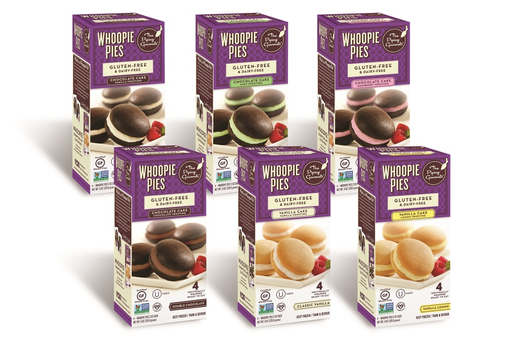 The Piping Gourmets Whoopie Pies (All Flavors) - Dairy-Free, Gluten-Free, Vegan