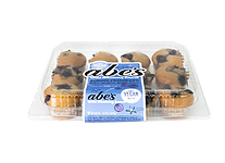 Abe's Mini Muffins Reviews and Information. Pictured: Wild Blueberry Smash