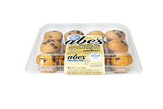 Abe's Mini Muffins Reviews and Information. Pictured: Chocolate Chip