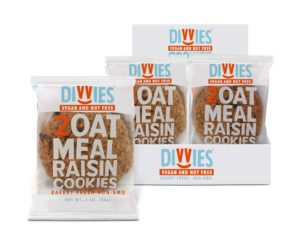 Divvies Bakery Cookies Reviews and Info - dairy-free, egg-free, nut-free, vegan cookies shipped right to your door. Full-size and minis available.
