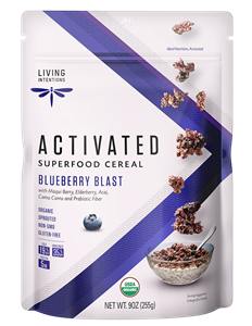 Living Intentions Activated Superfood Cereal Reviews and Info - dairy-free, gluten-free, grain-free, soy-free, nut-free, paleo, vegan, and packed with healthy ingredients!