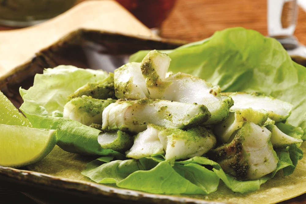 Southwestern Grilled Cod Tacos with Fresh Guacamole