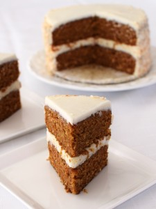 Cafe Indigo Vegan Goodness Layer Cakes - Amazingly dairy-free & egg-free! (carrot cake pictured)
