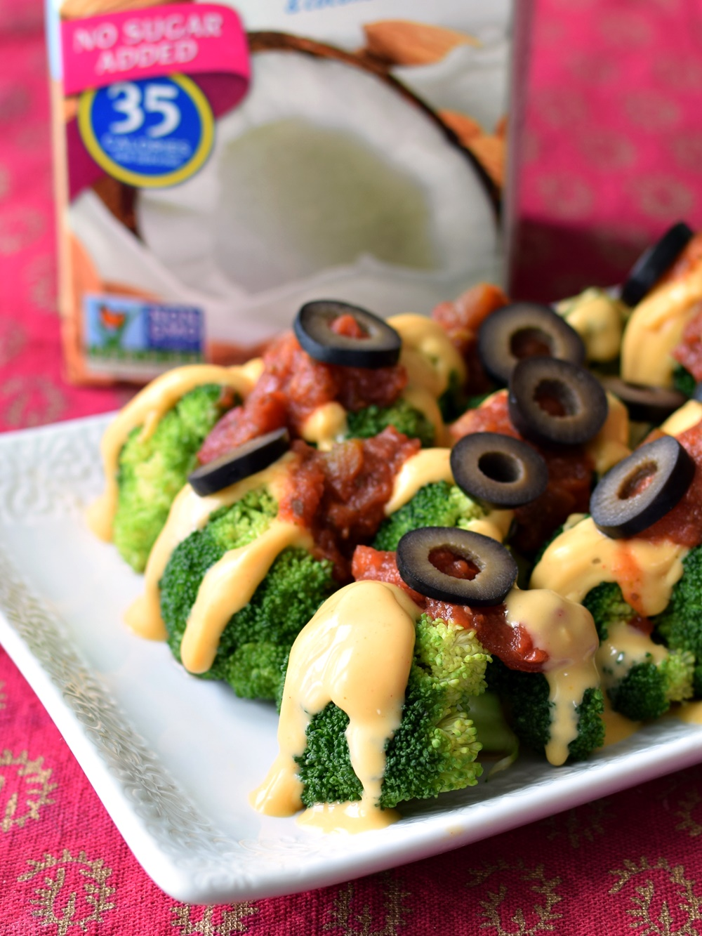 "Easy Cheesy Broccoli ""Nachos"" Recipe (Vegan, Gluten-Free & Allergy-Friendly for Awareness Month!) + Big Things to Come in Dairy Free"