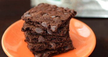 Lucys Brownie Crisp - Triple Chocolate Deliciousness! Crispy, crunchy, and allergy-friendly
