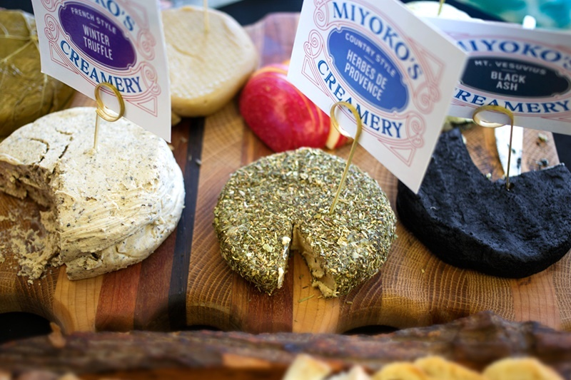 Miyoko's Creamery Non-Dairy Artisan Cultured Nut Cheeses - all vegan, gluten-free and soy-free
