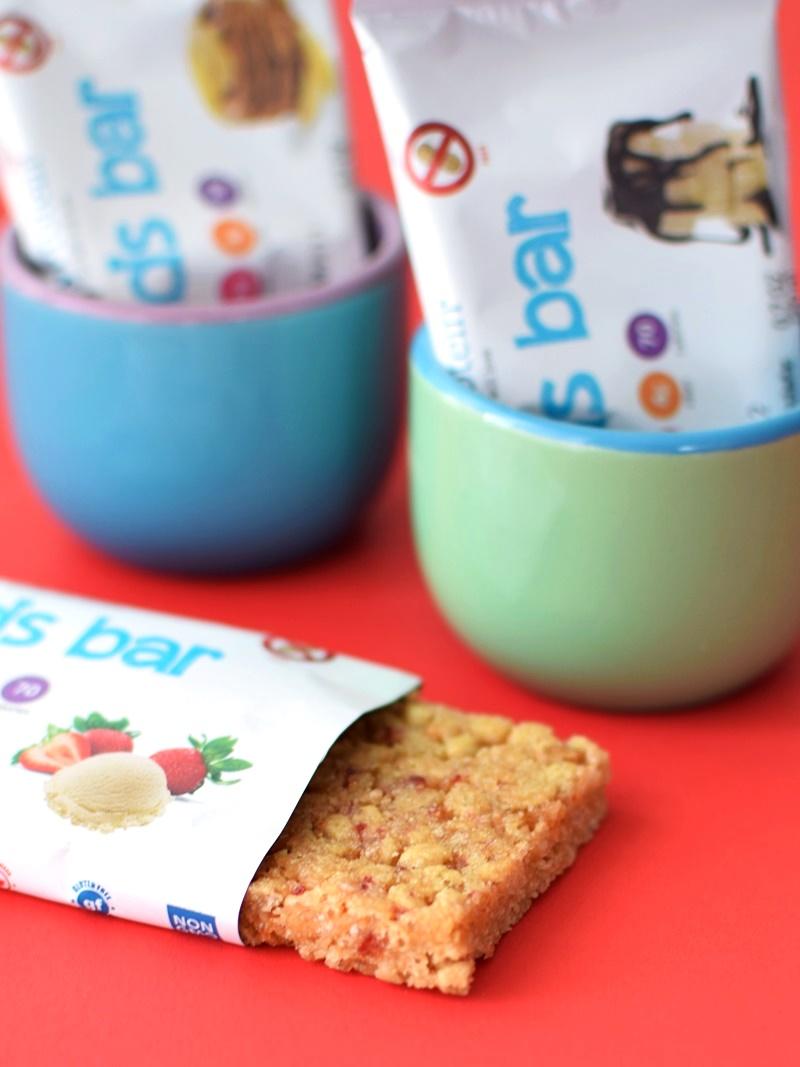 SimplyProtein Kids Bars - Three sweet dairy-free, vegan flavors