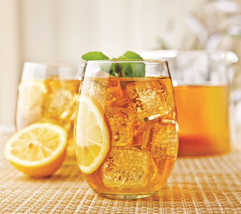 Sweet Southern Sorghum Iced Tea with Citrus + More Fun Iced Tea Recipes & Ideas (Cupcakes, Ice Cream & More - all vegan-friendly)