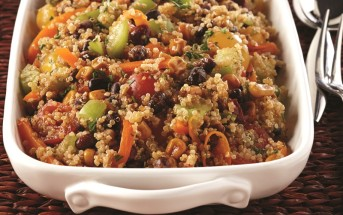 Southwestern Bean & Quinoa Salad With Cilantro-Lime Dressing
