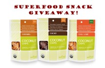Superfood Snack Giveaway - All Vegan, Dairy-Free, Gluten-Free, GMO-Fee and Natural Goodies - Feature