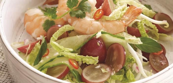 Healthy Thai Shrimp Salad (Fast and Fresh!)