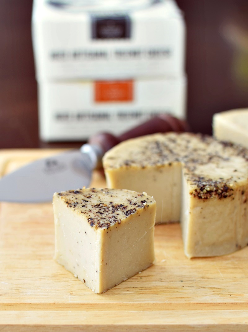 Treeline Hard Nut Cheeses (Aged Artisanal) - cashew-based, dairy-free, soy-free, paleo, and vegan (yes, you can grate it!)