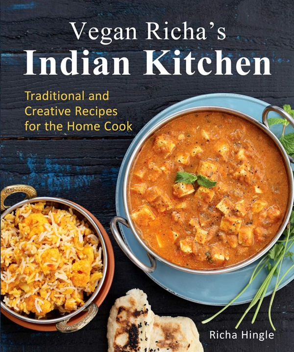 Vegan Richas Indian Kitchen Cookbook - sample recipe for Classic Indian Chickpea Flour Pancakes
