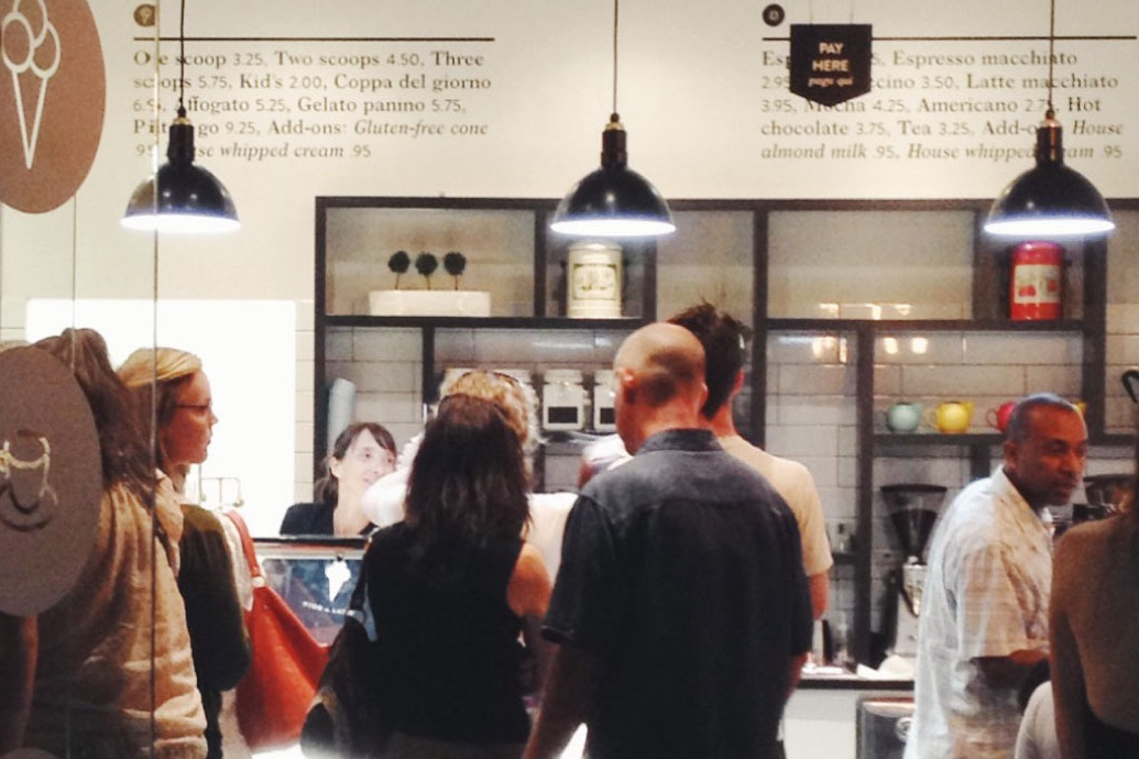 Fior di Latte Gelato in Boulder, CO churns creamy dairy-free flavors too!