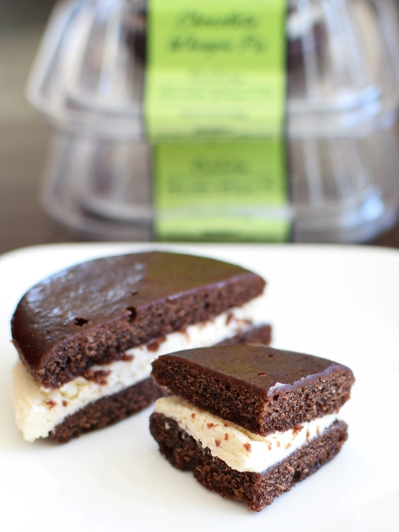 Cafe Indigo Vegan Goodness Cookie Desserts - Hello Whoopie Pie Indulgence! Unbelievably dairy-free and vegan.