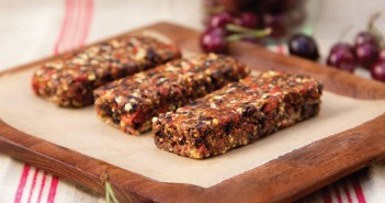 Chocolate Cherry Goji Bars