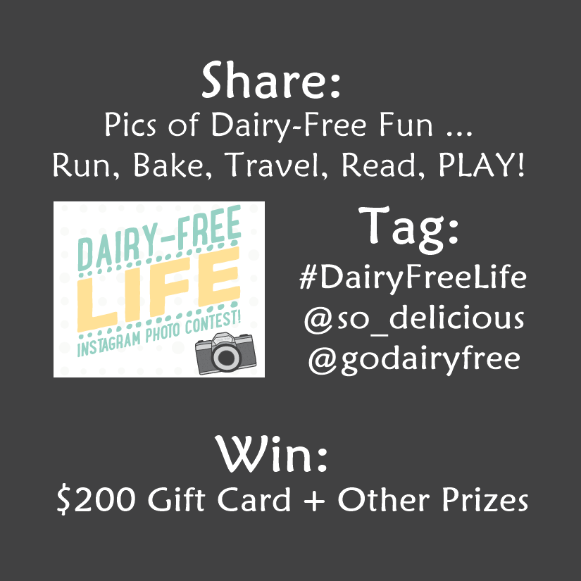 Show Us Your #DairyFreeLife - what fun activities do you enjoy without dairy? Prizes up for grabs!