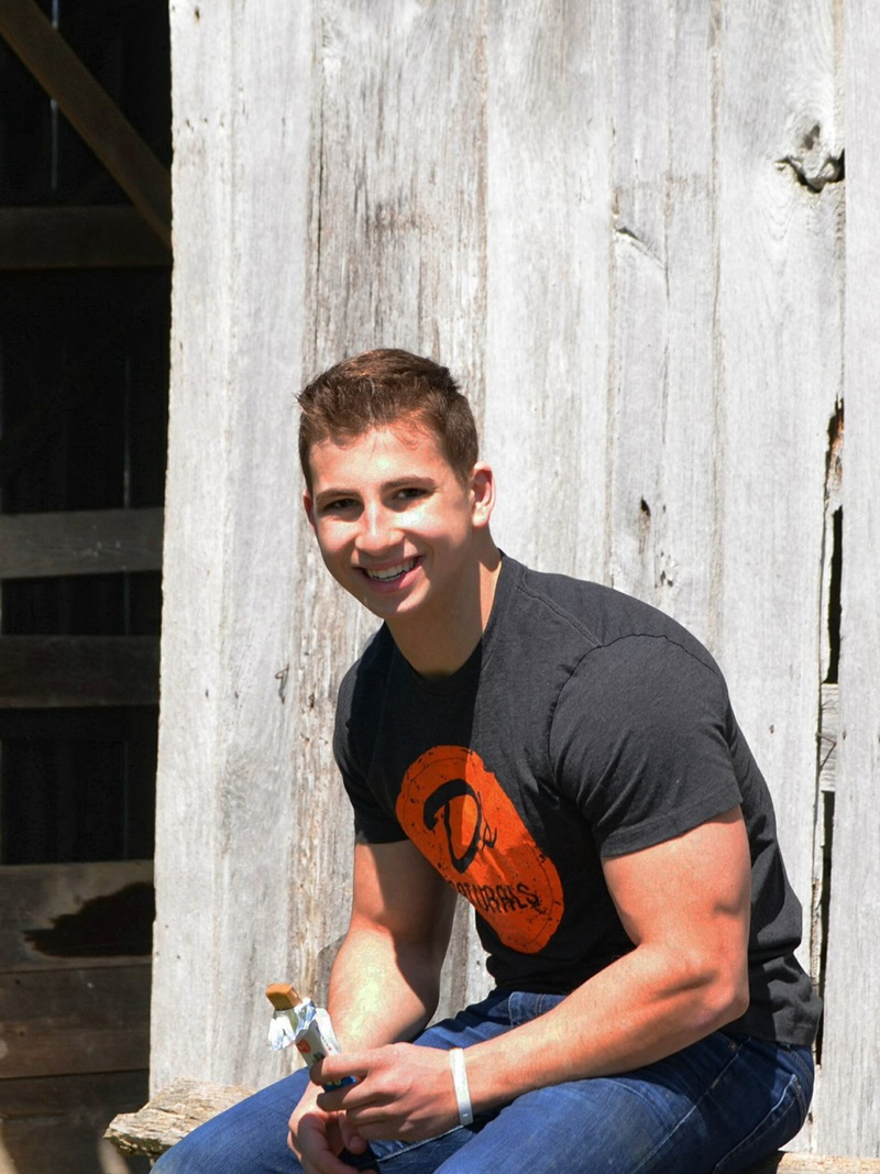 "Daniel ""D"" Katz - The fitness-oriented 18-year-old founder of D's Naturals - makers of high protein No Cow Bars"