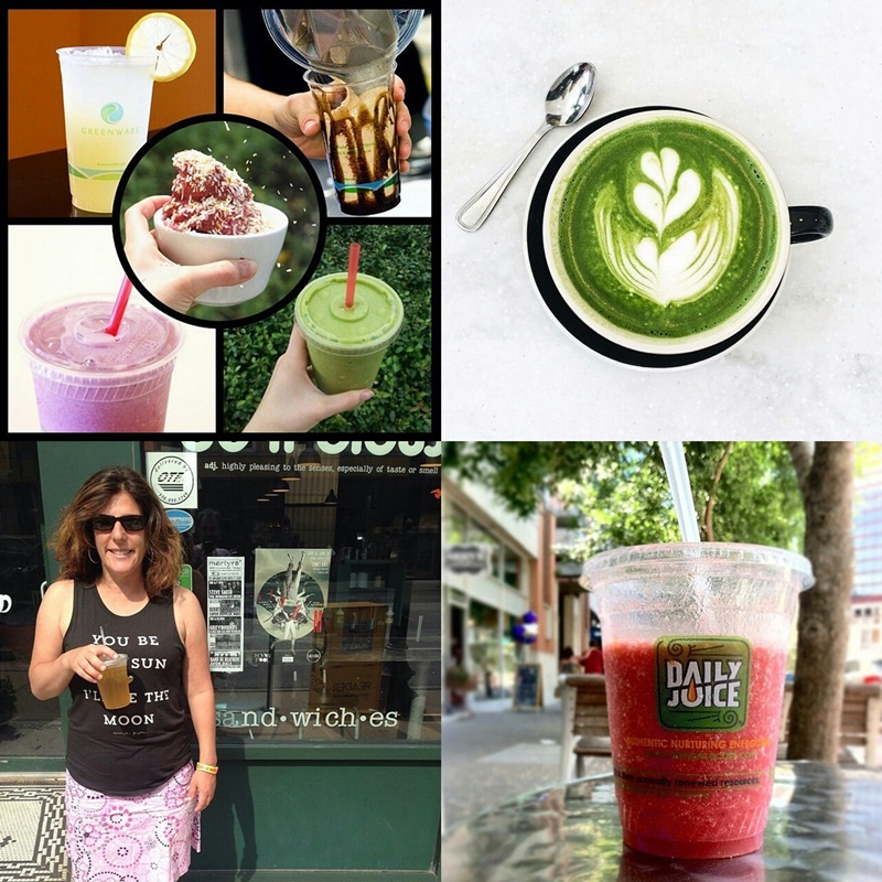 Favorite Places to Shop Dairy Free for Drinks! Top picks for smoothies, coffee drinks and more.