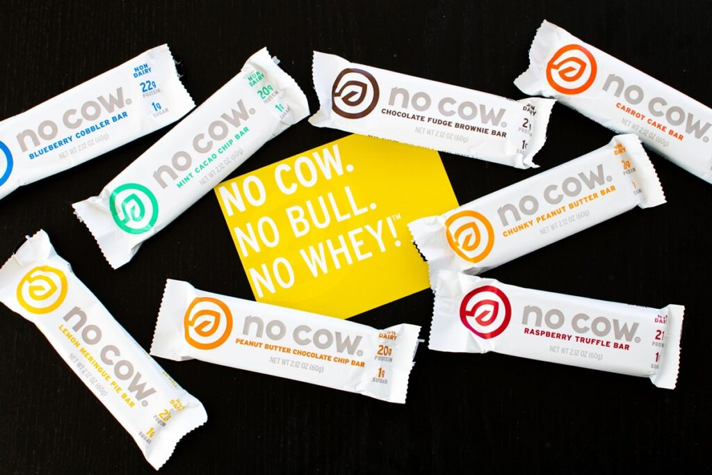 No Cow Bars: High Protein, Low Sugar, Dairy-Free Fuel