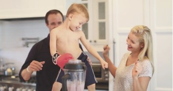 So Delicious Dairy Free Shake Off! - 5 Celebrity Smoothie Recipes + Drew Brees & Family Mixing it Up with a Strawberry MylkShake