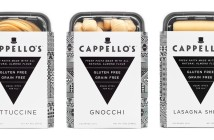 Cappello's Pasta - Gluten-Free, Grain-Free, Dairy-Free, Paleo and seriously impressive! Comes in Fettuccine, Lasagna Sheets, and some very filling Gnocchi.