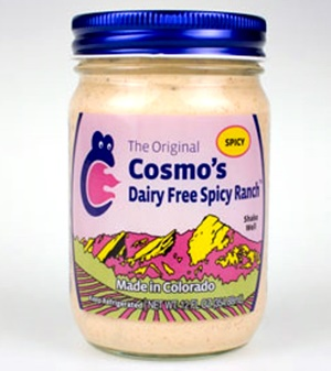 Cosmo's Dairy-Free Spicy Ranch - Dressing or Dip - Rich, Cream, Amazing! (nut-free, gluten-free, soy-free)