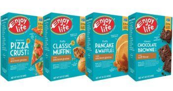 Enjoy Life Gluten-Free Baking Mixes - Muffin, Brownie, Pancake + Waffle, Pizza Crust (all Rich in Protein and Heat-Safe Probiotics)