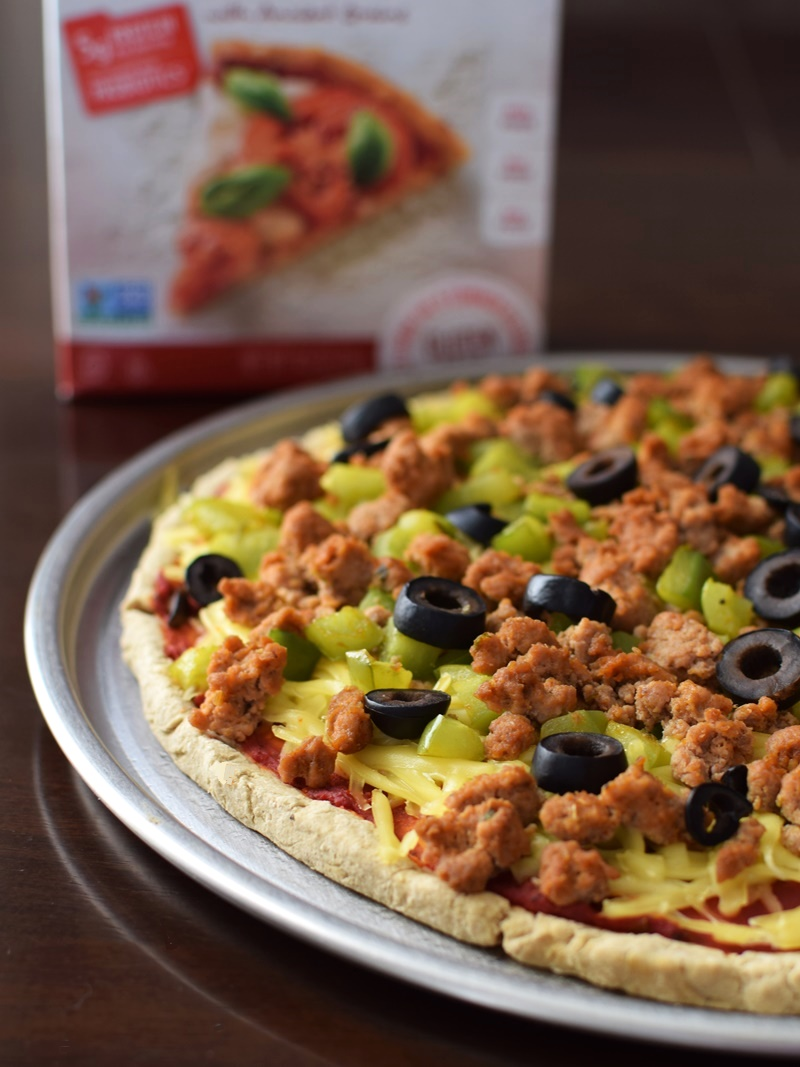 Enjoy Life Gluten-Free Baking Mixes (Pizza Crust Pictured) - Top Allergen-Free, Vegan, Rich in Protein and Made with Heat Safe Probiotics.